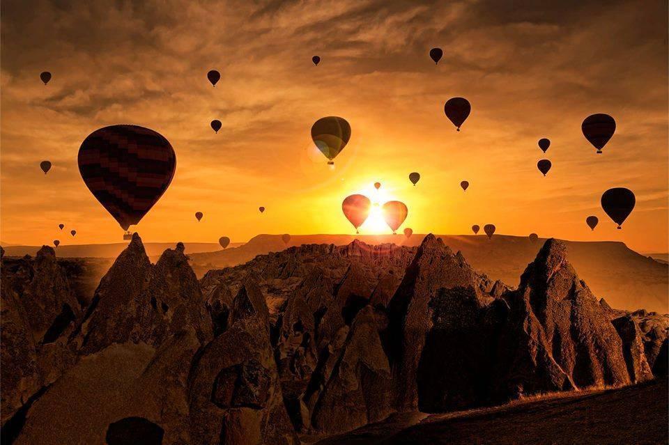 Passeio em Balão na Capadócia