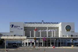 Aeroporto de Antalya Turquia