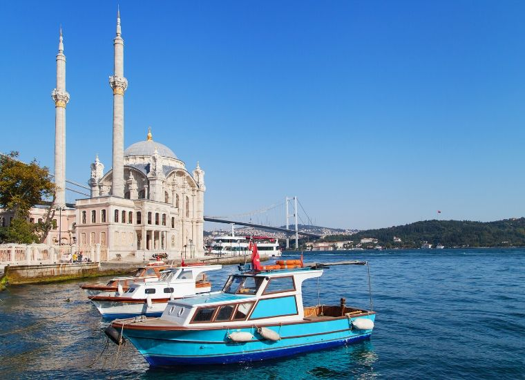 Bósforo de Estambul y dos continentes