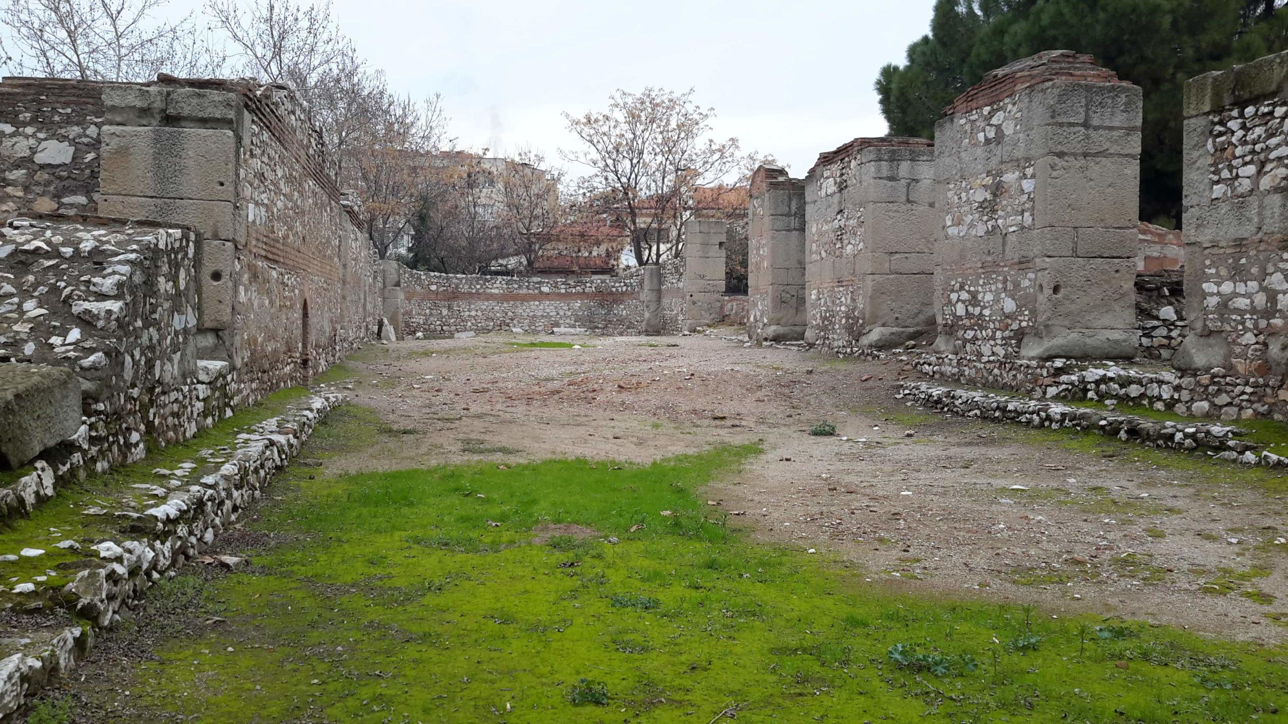 Ruínas da antiga cidade de Tiatira